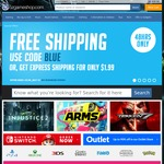 Free Standard Shipping or $1.99 Express with No Minimum Purchase @ OzGameShop
