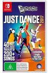 Nintendo Switch Just Dance 2017 $39 @ JB Hi-Fi and Big W