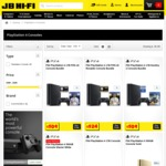 Gold or Silver PS4 Slim 500GB with X2 Controllers $449 @ JB Hi-Fi