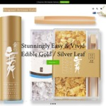 10% Off All Edible Gold, Champagne Gold & Silver Leaf Products @ Original Artisan Gold  (Valid 12/9 - 14/9)