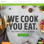 Two Free Meals ($20 Value) with YouFoodz (Minimum Spend $69)