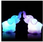 LED Elephant Night Lights $0.11 US (~ $0.14 AU) + Others @ GearBest