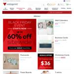 Black Friday - Up to 60% off - Vistaprint