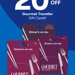 20% off Gourmet Traveller Restaurant Gift Cards @ Big W (In-store)