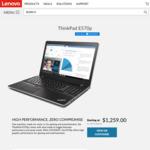 Lenovo ThinkPad E570p | i7-7700HQ | 8GB RAM/256GB NVMe SSD | GTX1050ti for $1259 inc GST - Delivered