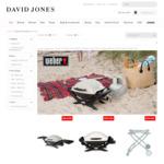Weber Q 1000/2000 $287/ $386 and Accessories Discounted @ David Jones