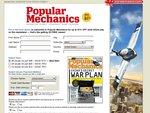 Popular Mechanics Mag - 3 Years for $61 USD