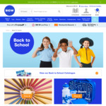 Free School Book Contacting (with a Purchase) at Big W