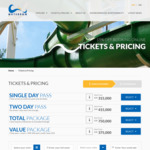 Extra 15% off Waterbom Bali Single Day Pass Ticket