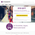 Free $10 Gift for New Cashrewards Users (Free to Sign Up)