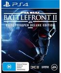 [PS4] Star Wars Battlefront II: Deluxe Edition $59 Pickup @ JB Hi-Fi