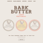 Bark Butter Dog Balm - $10.50 + Delivery (30% off) Early Bird Easter Sale for OzBargain Only