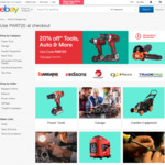 20% off 23 Selected Outdoor Sellers @ eBay