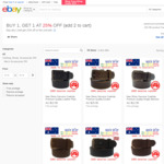 Australian Made Full Grain Leather Belts, $21.95 - $29.95: Buy 1 Belt Get 25% off the 2nd Belt @ Paramount Australia eBay