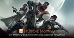 [Humble Monthly] Pre-Purchase June Bundle USD $12 (~AUD $15.93) to Immediately Get Destiny 2 Blizzard/PC Key