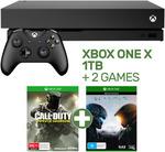 Xbox One X 1TB Console +Halo 5 + Call of Duty: Infinite Warfare - $546.05 Delivered @ EB Games eBay