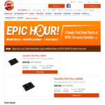 SanDisk SSD Plus 240GB $59 + Shipping ~ $10 @ Shopping Express Epic Hour