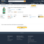 [Amazon Prime] Colgate Plax Freshmint Mouthwash 1L $4.49 Delivered @ Amazon AU