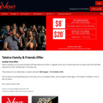 Event Cinemas - $8 Standard & $20 Gold Class Tickets (Sessions between 30/8/18 & 30/10/18)