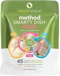 Method Smarty Dish Plus Dishwasher Detergent Packs 45 Sachets $10 (Was $20) Naturally Derived NonToxic Mineral Based @ Big W