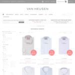 4 Business Shirts $100 Delivered @ Van Heusen