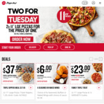 Buy 1 Large Pizza (Minimum $12.95) & Get 1 Free @ Pizza Hut (Tuesdays, Pick up Only)