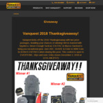 Win 1 of 2 Vanquest Gear Packs Worth Up to $1,455 from Vanquest