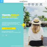 Travel Friday - 40% off Participating Accor Hotels (50% off for Accor Plus Members)