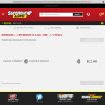 Armor All Car Washes 1.25L - Any 2 for $12 @ Supercheap Auto