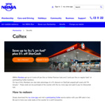 5% off Caltex StarCash Gift Cards for NRMA Members