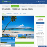 40% off Fiji: 7 Nights, Flights, Transfers, Upgrade, Free $500 Credit + Kids, Play, Eat Free from $2770 @ Travel Online