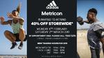 [VIC] 40% off Storewide @ adidas Centre (Mulgrave)