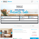 Hilton Honors Asia-Pacific Resorts up to 35% off Sale for Stays through February 2, 2020 (Book by March 19)