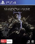 [PS4] Middle Earth Shadow of War $8 + Delivery (Free with Prime) @ Amazon AU