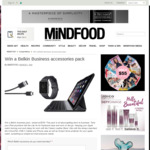 Win a Belkin Business Accessories Pack Worth $330 from MiNDFOOD