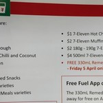 7-Eleven App - April Offers: Free Remedy Switchel Tropical (5th April), $4 500ml 7-Eleven Ice Cream Tubs (Fridays)