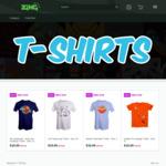 Printed T-Shirts $10 @ Zing Pop Culture