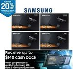 Samsung 860 EVO 1TB $188.80, QVO 2TB $314.40 Delivered (Samsung Cashback Eligible) @ Futu Online eBay