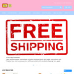 Free Shipping Sitewide Loz Blocks and Labels @ Shine Kids World