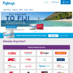 10,000 Bonus Flybuys Pts or $50 off with $50 to $200 Spend Per Week for 4 Weeks @ Coles