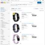 Fitbit Inspire HR $135.20, Fitbit Charge 3 $159.20 @ Myer eBay