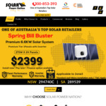 [NSW] 6.6kw Solar Power Installation for $2399 @ solarpowernation