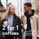 Buy One Coffee and Get Second One Free @ SkipApp