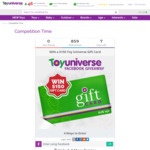 Win a $150.00 Toy Universe Gift Card