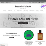 10% off Sitewide + Stackable with Selected 15% off Second Item (Free Shipping with $20) @ Beard and Blade