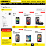 Boost Huawei Ascend G630 Prepaid Handset (Black) + Bonus Bluetooth Speaker $29 | Lumia 635 $49 + More @ JB Hi-Fi (In-Store)