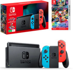 Nintendo Switch 2019 + Mario Kart 8 Deluxe Download Bundle $374.81 Delivered @ The Gamesmen eBay
