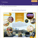 Win a Marriot Bonvoy VIP Lounge Pass + Overnight Accommodation on Christmas Eve Worth $2,700 from Vision Australia [VIC]