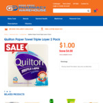 $1 Deals - Quilton Paper Towel 2 Pack | Band Aid Strips 25 Pk | Fab Laundry Powder 500g @ Good Price Pharmacy (in-Store Only)
