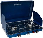 [Clearance] Campmaster Portable LPG Double Stove (Save $25) $54 C&C /In-Store (No Delivery) @ BIG W